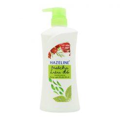 Hazeline Shower Gel Lightening Skin Matcha + Pomegranate 700G