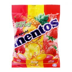 Mentos Fruit Flavor Chewy Candy 108G