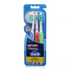 Oral-B Toothbrush Easy Clean Pack 3'S