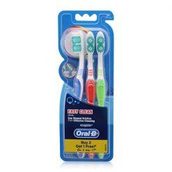 Oral-B Toothbrush Easy Clean Pack 3'S