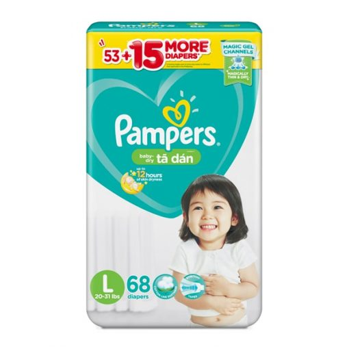 Pampers size for newborn baby