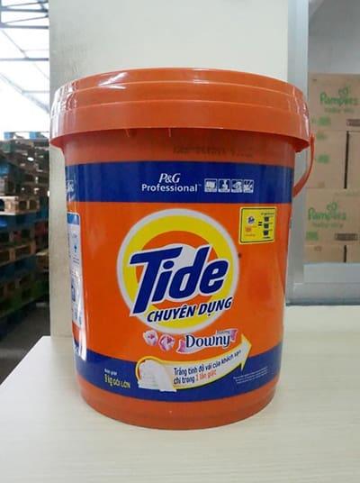 Tide detergent bucket