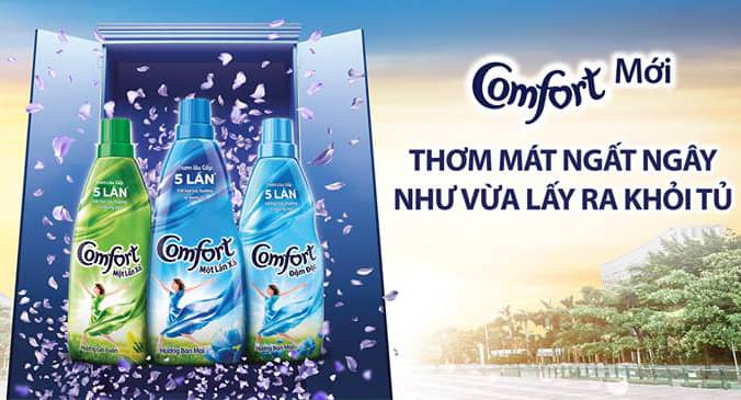 comfort one time fabric conditioner