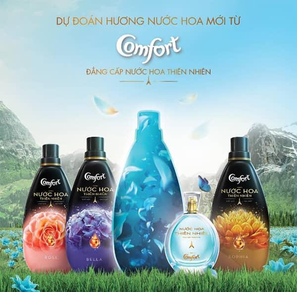 comfort perfume fabric conditioner