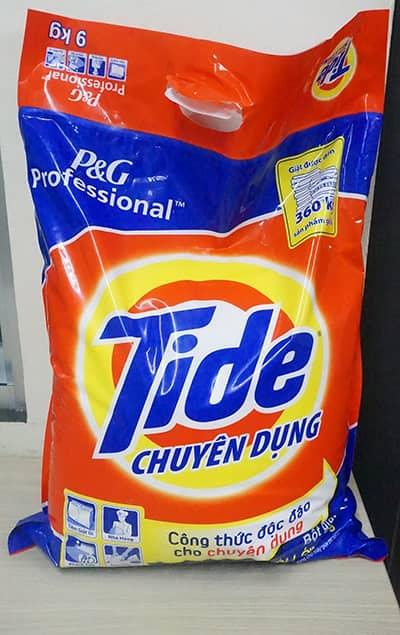 Tide detergent 9kg bag
