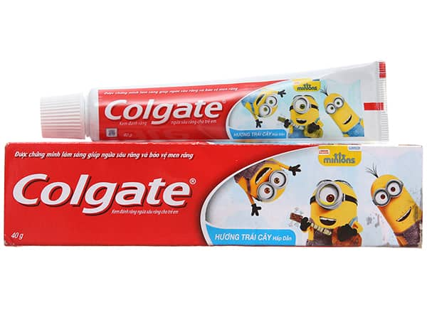 Colgate for children toothpaste