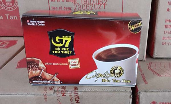 g7 black instant coffee