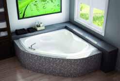 Caesar Corner Bathtubs
