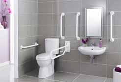 Hand Rail Toilets