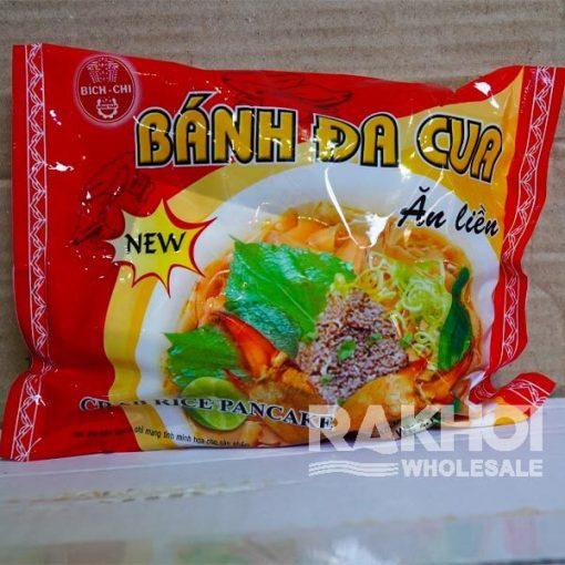 Bich Chi Banh Da Cua Crab Rice Pancake 60g