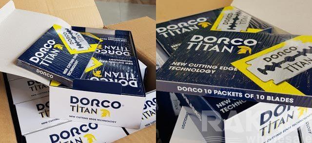 Wholesale Dorco Titan Blade Razor