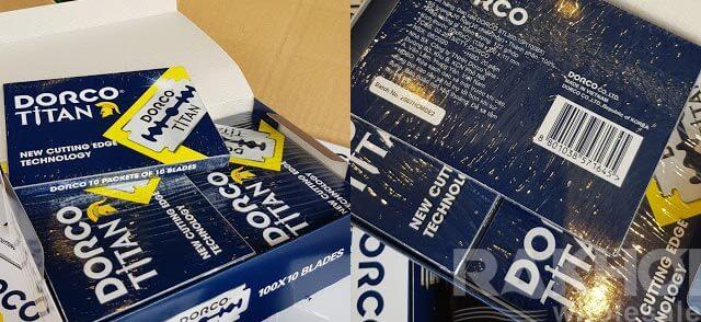 Distribution Dorco Titan Blade Razor